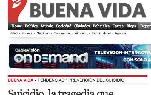 12/09/13 – Nota publicada en Clarín.com