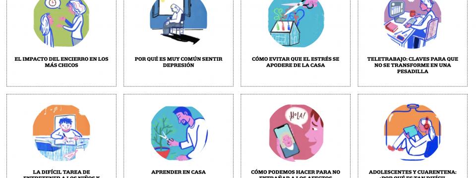 Nota en el diario La Nación: «Cuarentena: los desafíos de la nueva vida familiar «